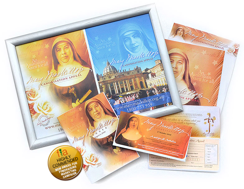 Mary MacKillop Canonisation Appeal Campaign