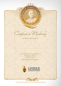 AoB Certificate