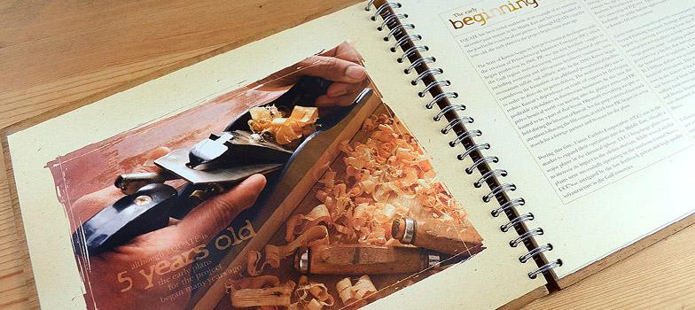 Wooden Brochure