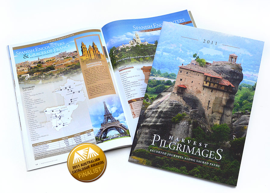 Harvest Pilgrimages Brochure